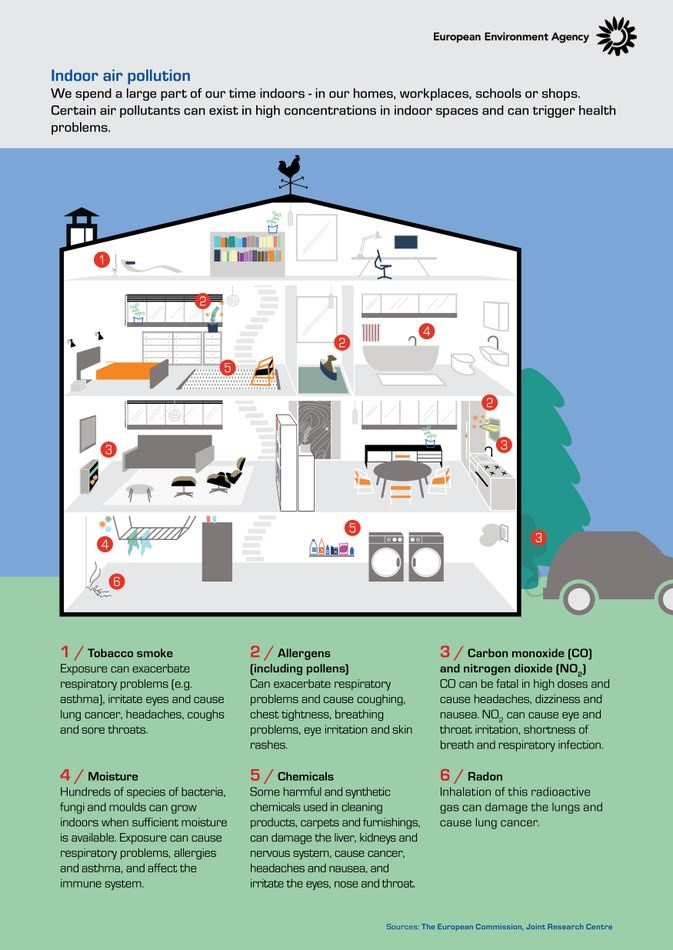 How to make your happy home a safe home for your babees: Combat indoor air pollution