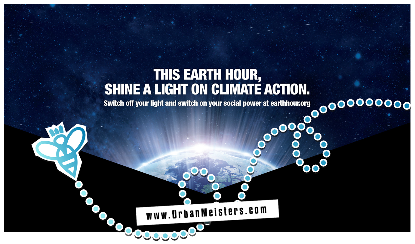 UrbanMeisters supports WWF Earth Hour: Join us & #ActToChange