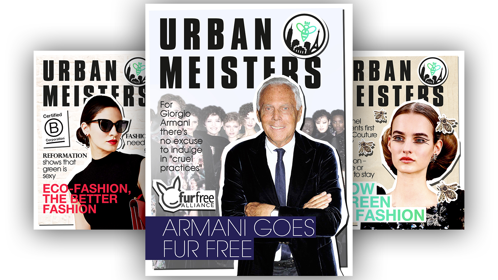 Prelude– Why Armani called it quits on fur fashion. Your turn next.