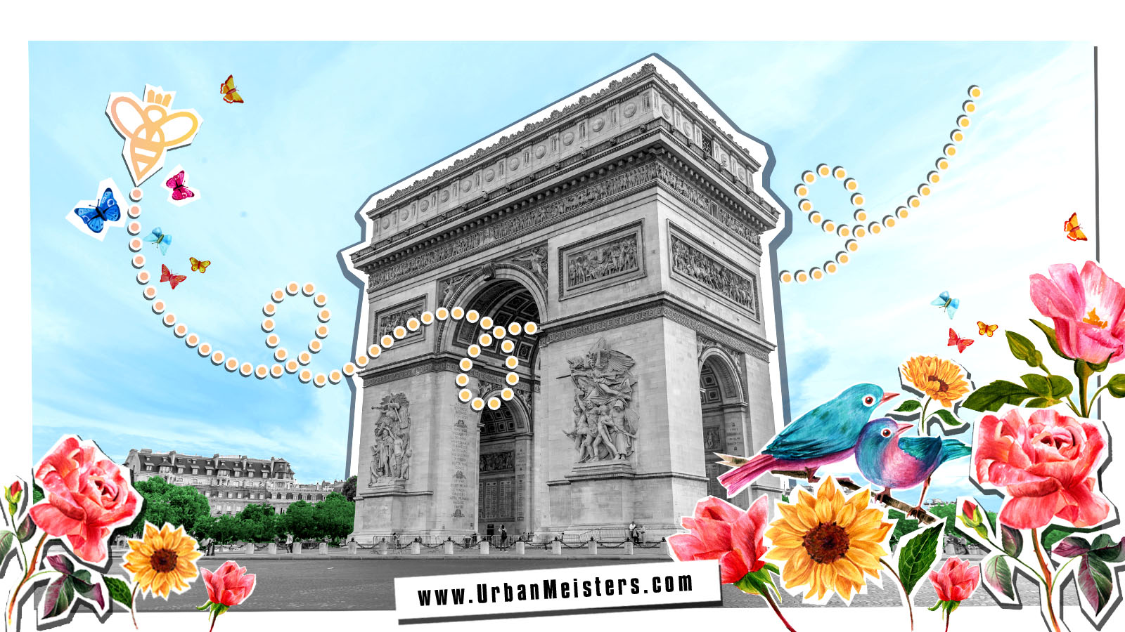 Green Paris Guide with One Heart Spots App