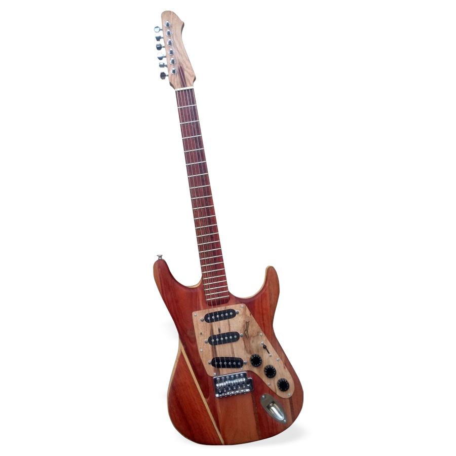 DEPALET_Palletocaster-guitar made with recycled wood