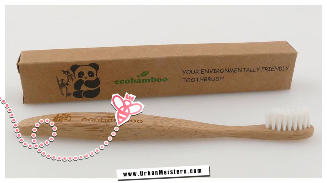 [GREEN PERSONAL CARE] Plastic free toothbrush: Bamboo toothbrush!