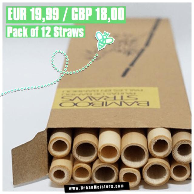 UrbanMeisters Bali-Boo Bamboo straws