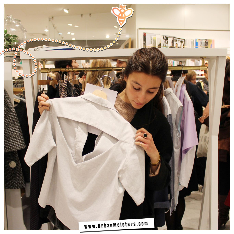 Fashion Innovation Label WYLDE Shirt Charlotte