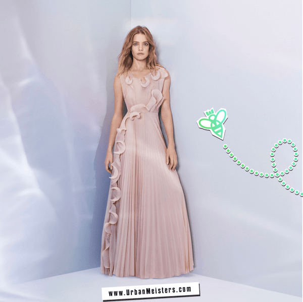 H&M Conscious collection gown