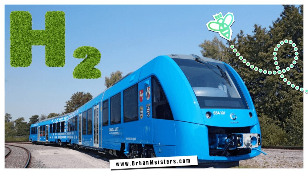 Green urban Commute- Germany zero emission train