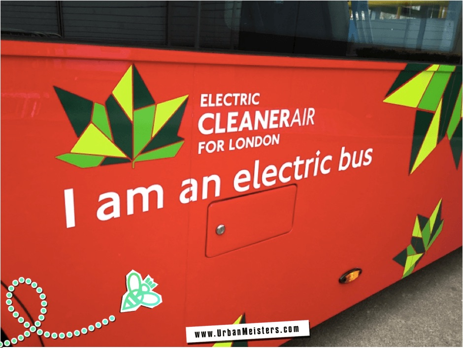Green urban commute- London electric bus fleet