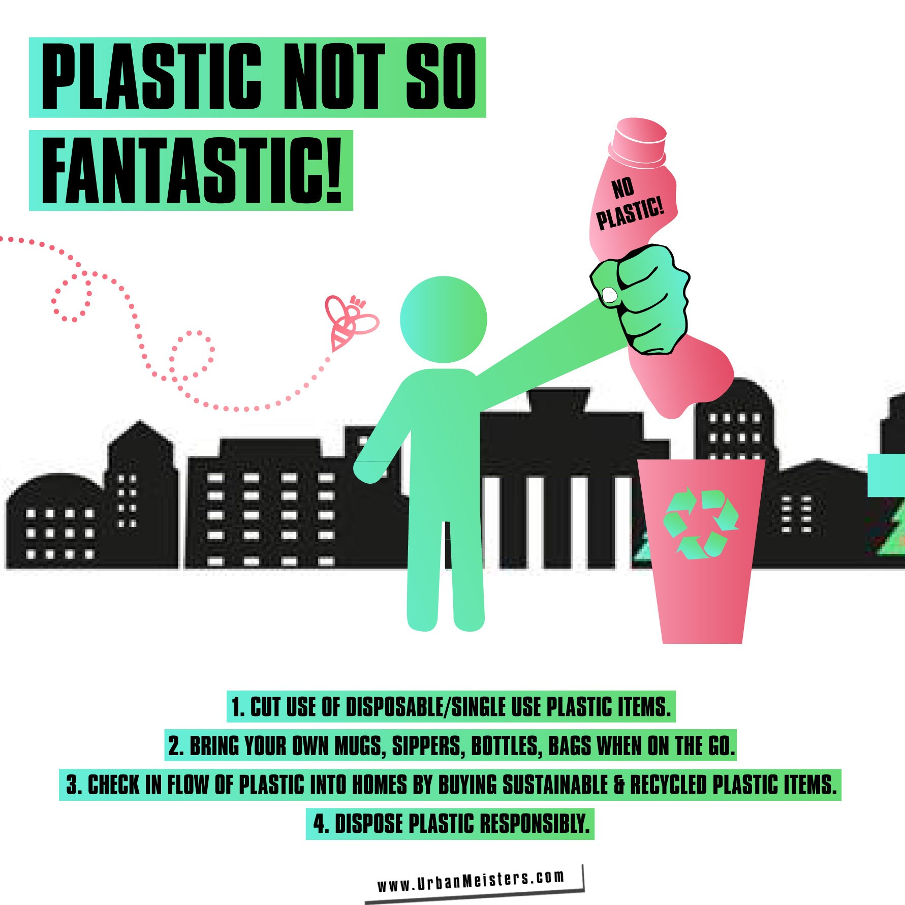 Say no to plastic tips