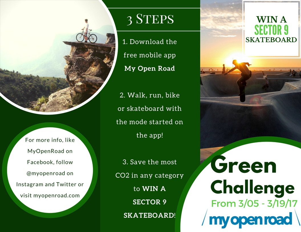 REWARD SUSTAINABLE LIFESTYLE WITH MY OPEN ROAD 4