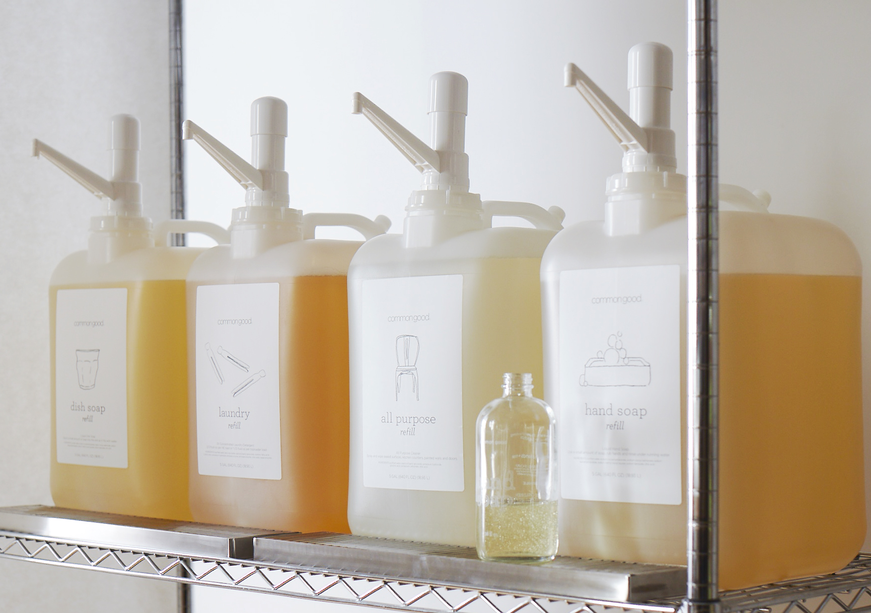 Non-toxic cleaning products Refill Station