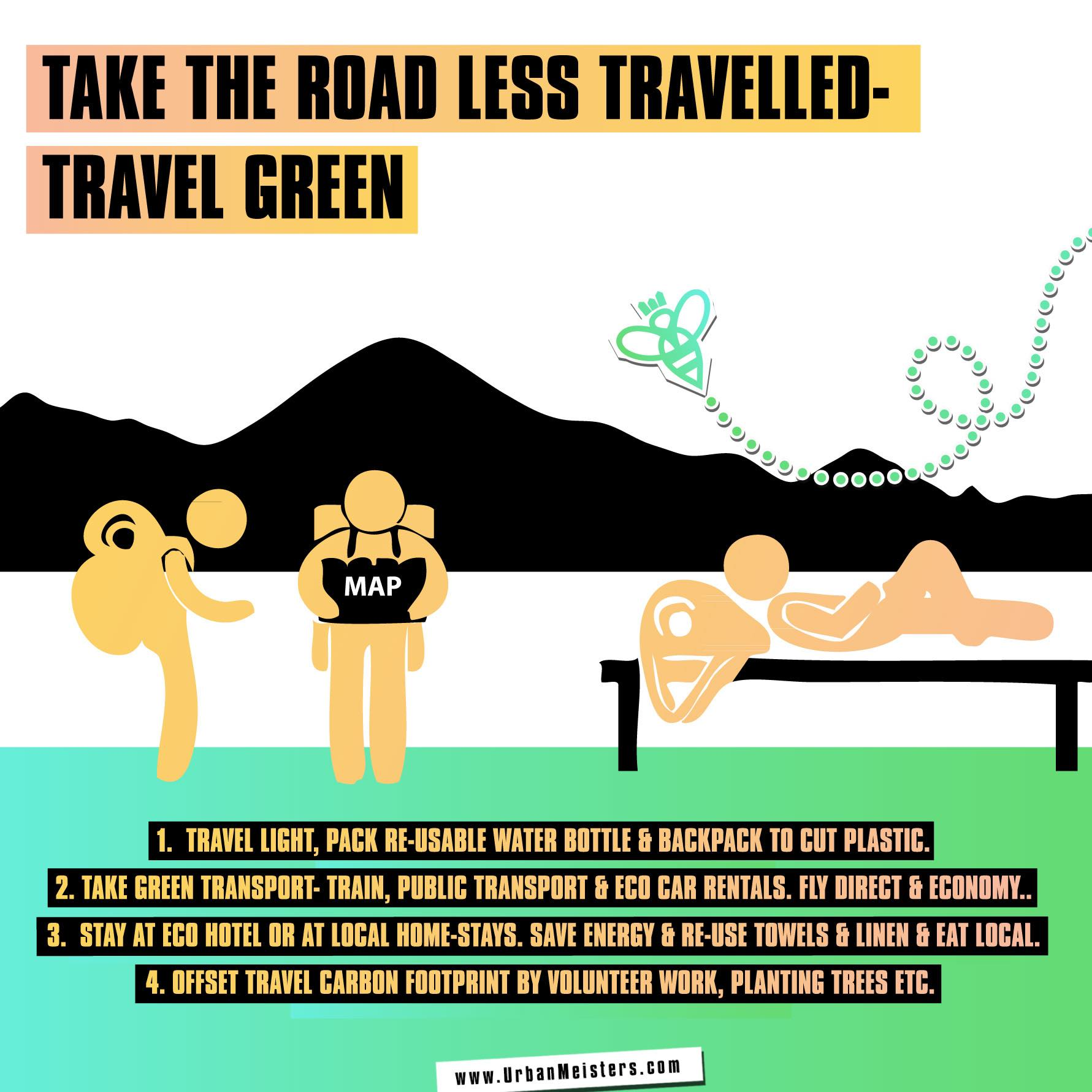 [GREEN LIVING] How to reduce holiday carbon footprint & travel green?