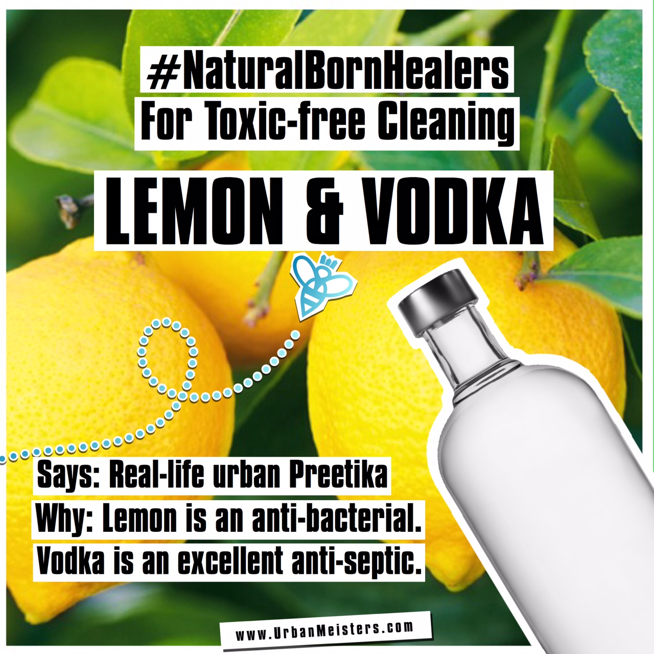 [#NaturalBornHealers] Natural products that are great non-toxic cleaners!