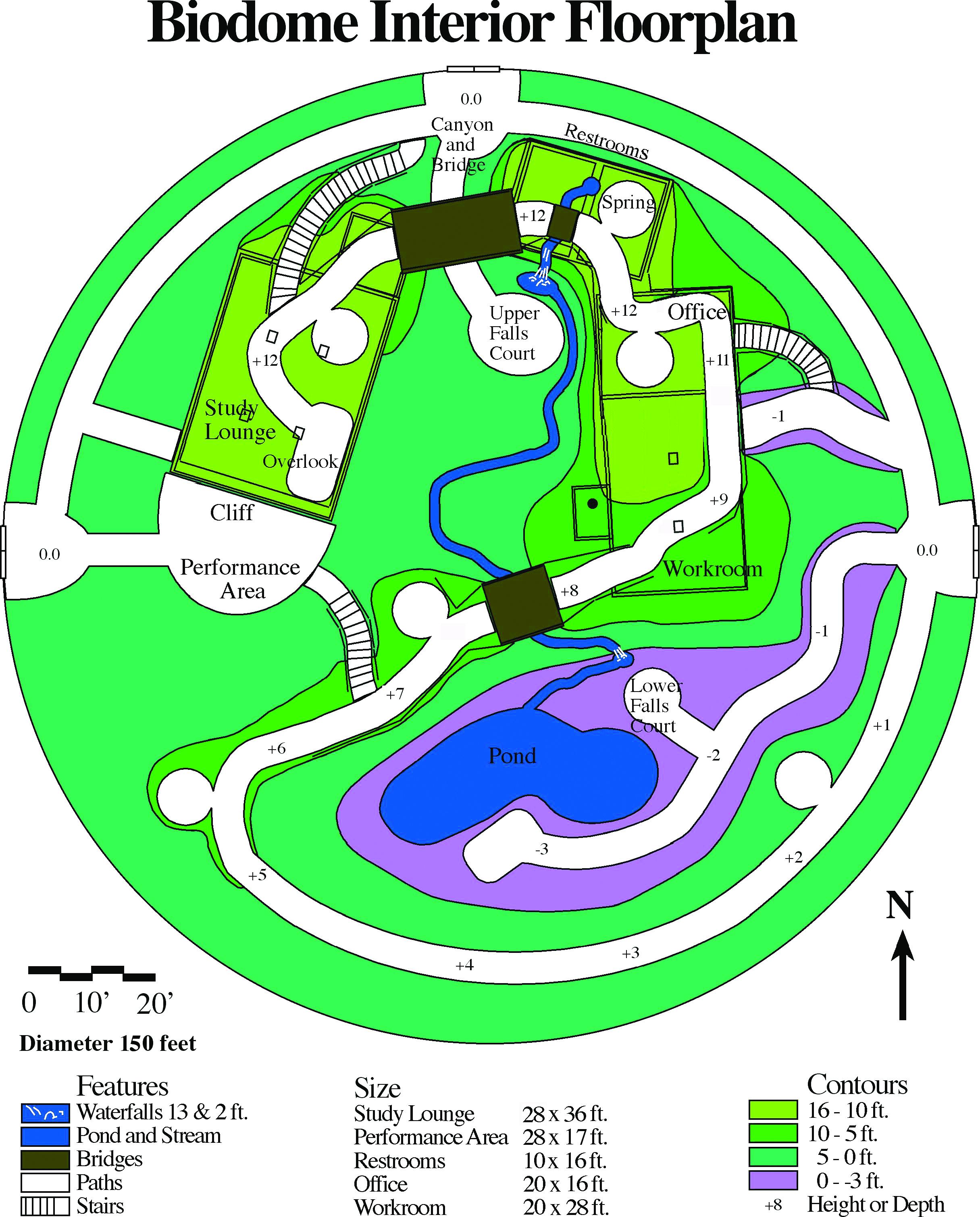 Biodome Floorplan