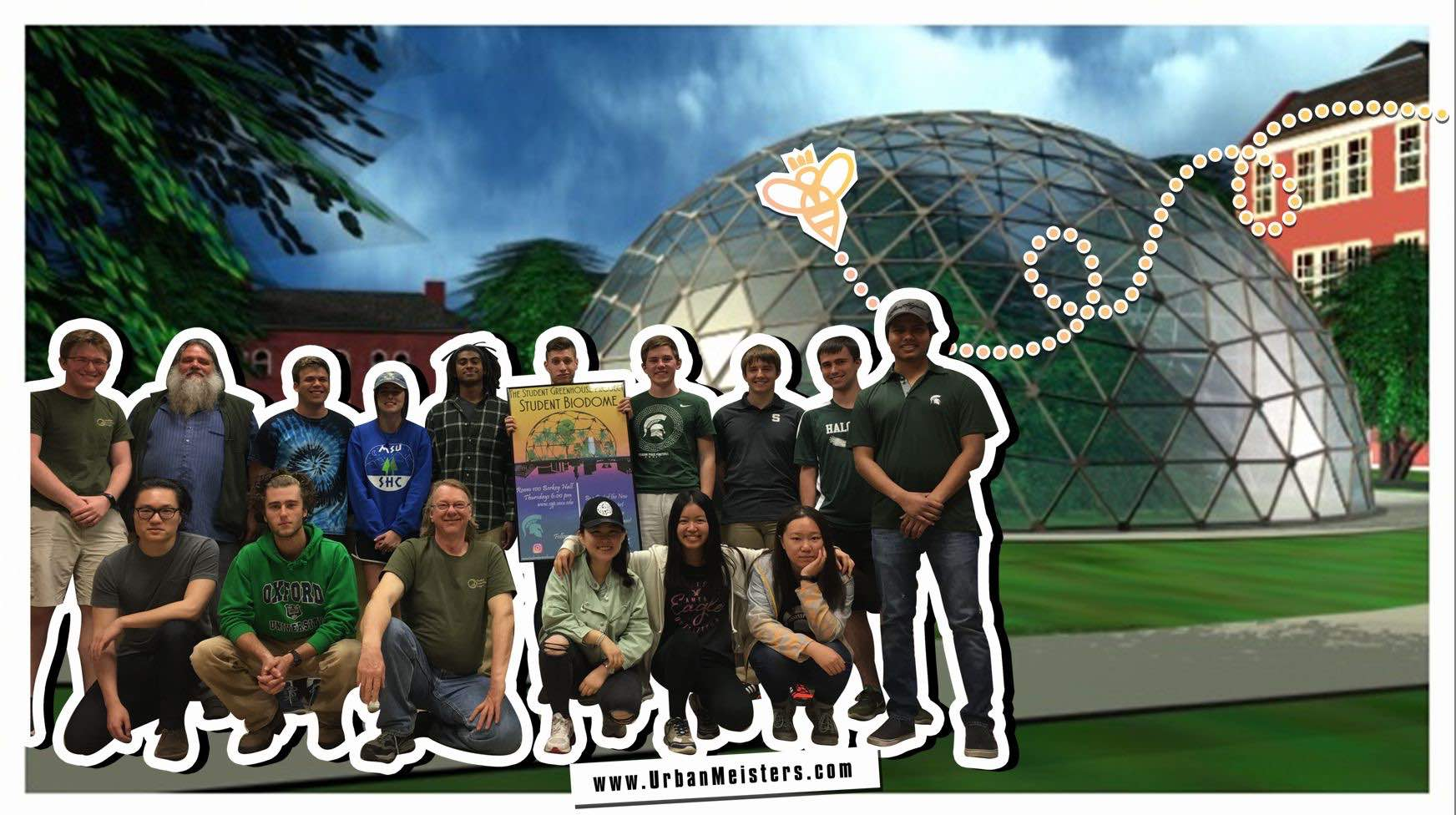 [NEXT GEN ECO INITIATIVE] Green Biodome by students in the works