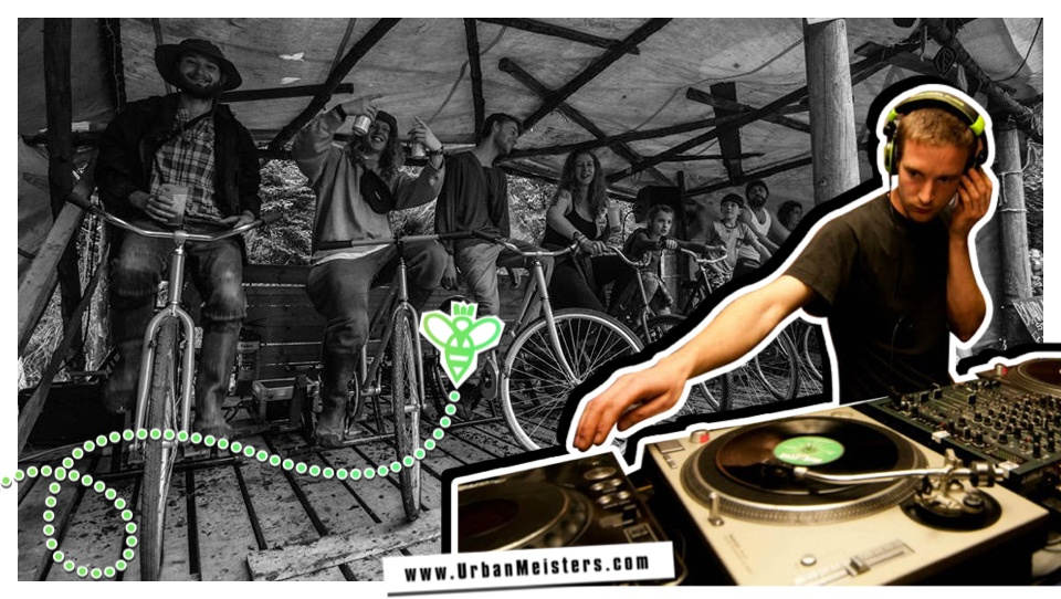 [GREEN TECH] Pedal power sound systems for music fests by Reaction