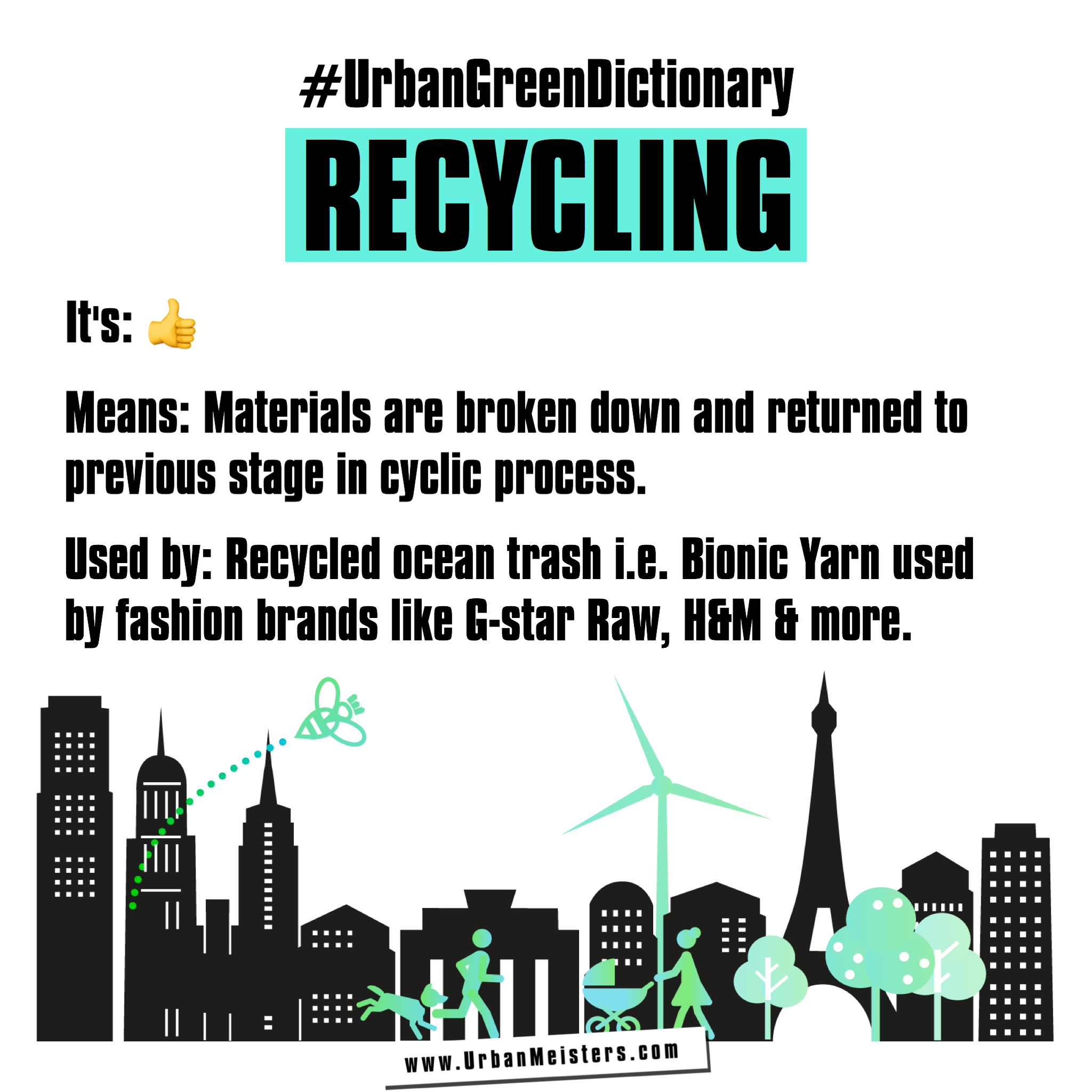 [#UrbanGreenDictionary] A guide to stay safe from urban pollution & live sustainable!
