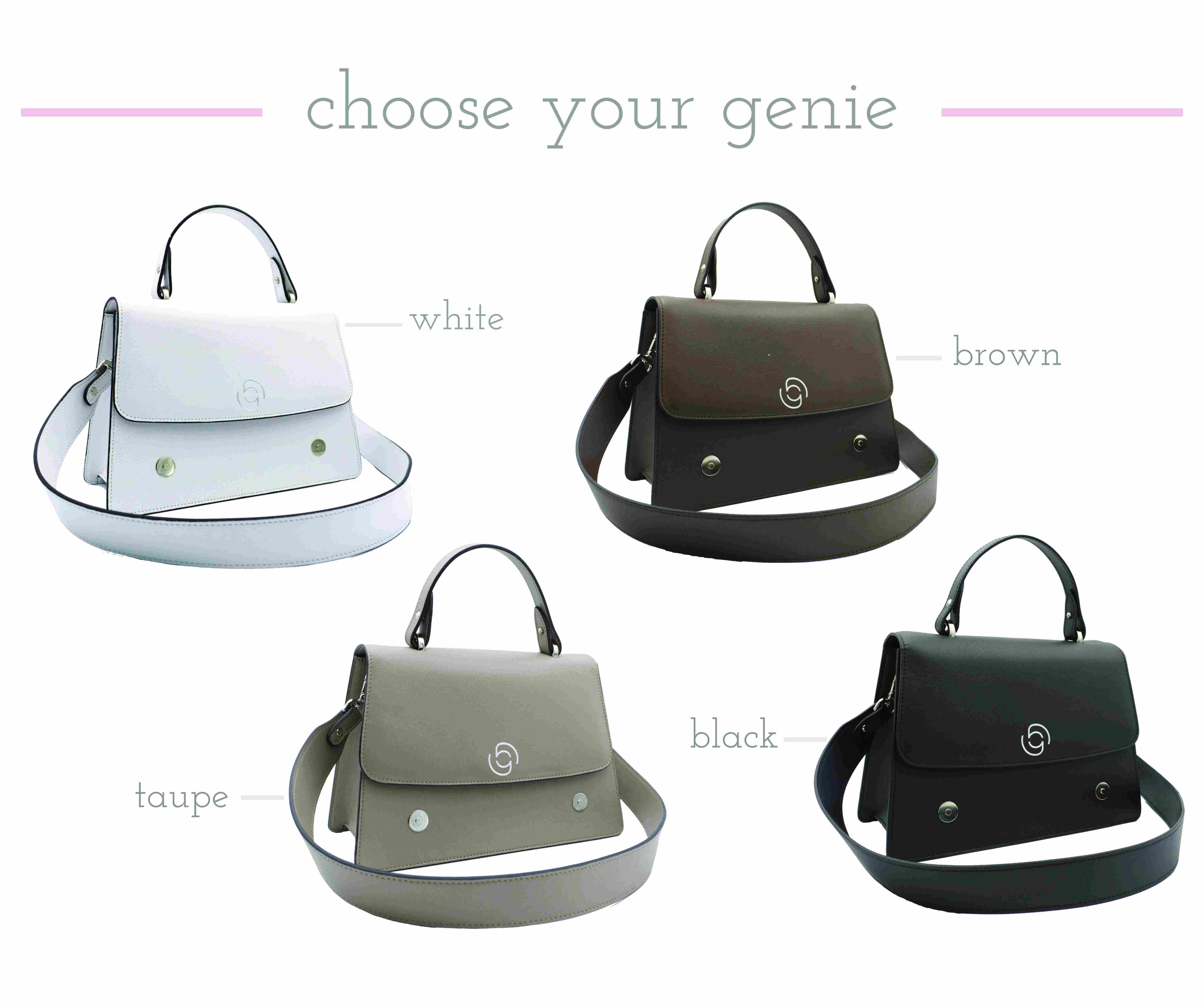 Happie Genie vegan handbag