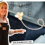 [GREEN ART DIGEST] Message on denim- sustainable printmaking by Holly