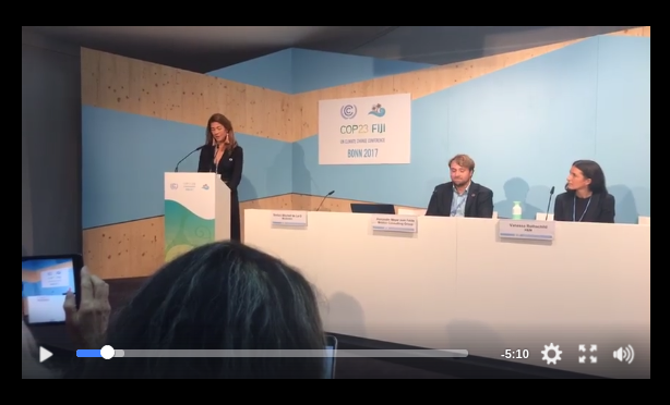 COP23 Fashion talk