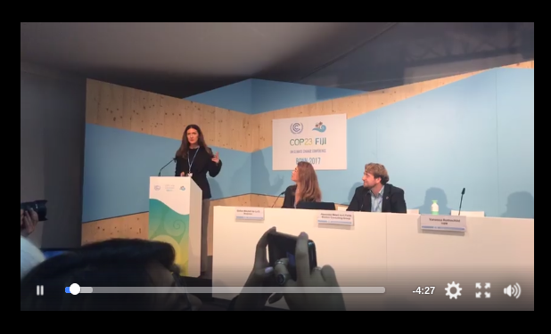 COP23 Fashion Vanessa live talk