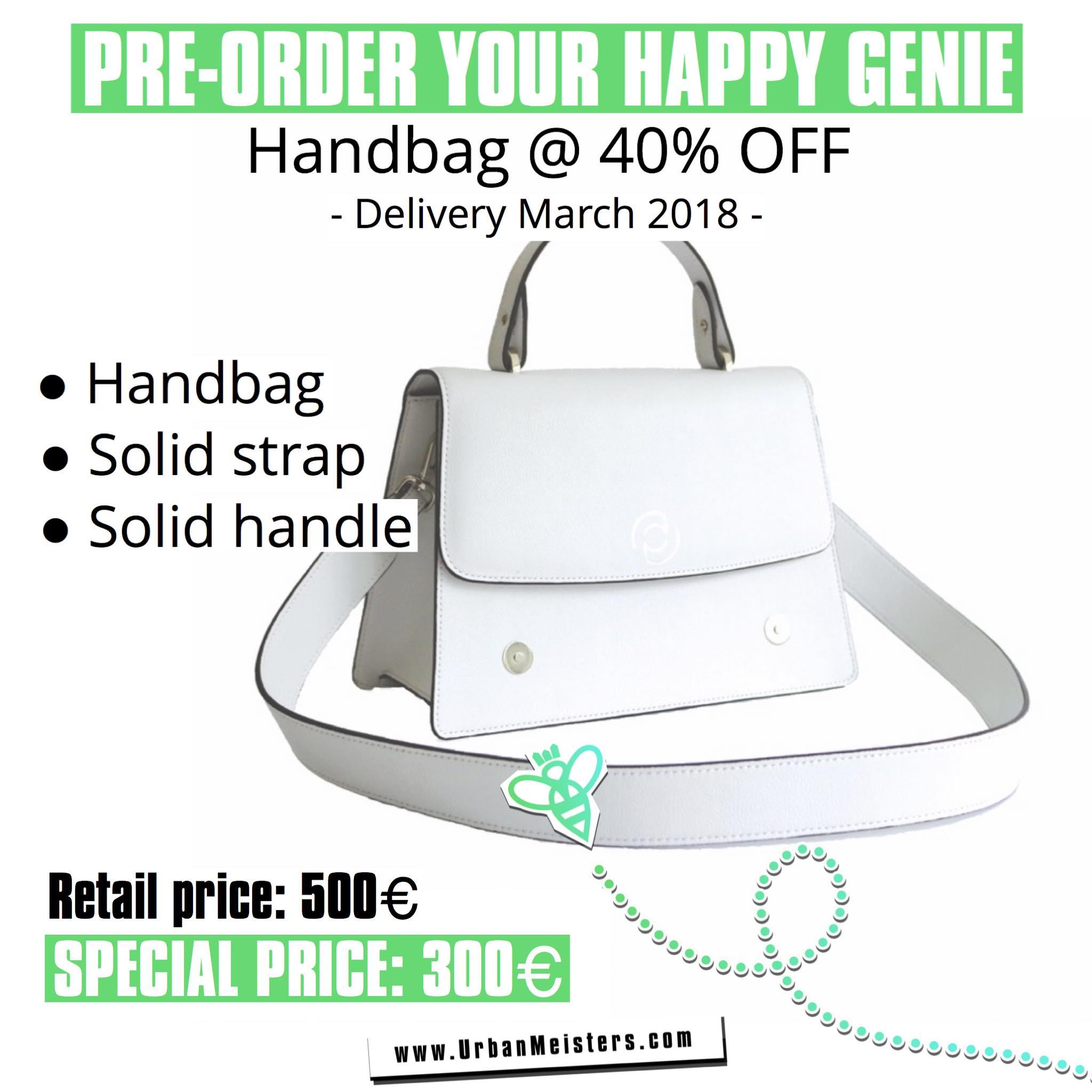 vegan handbags happy genie pre order 2