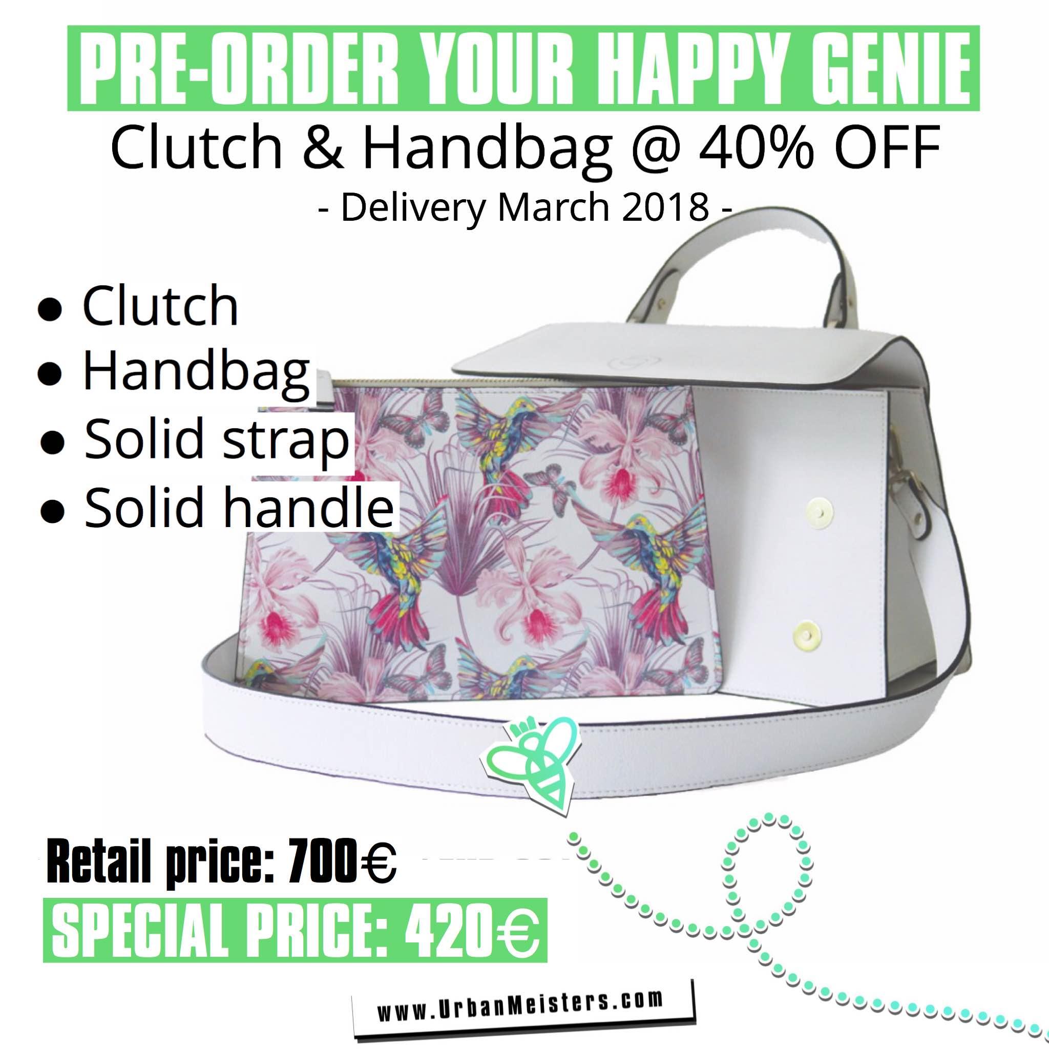 vegan handbags happy genie pre order 4