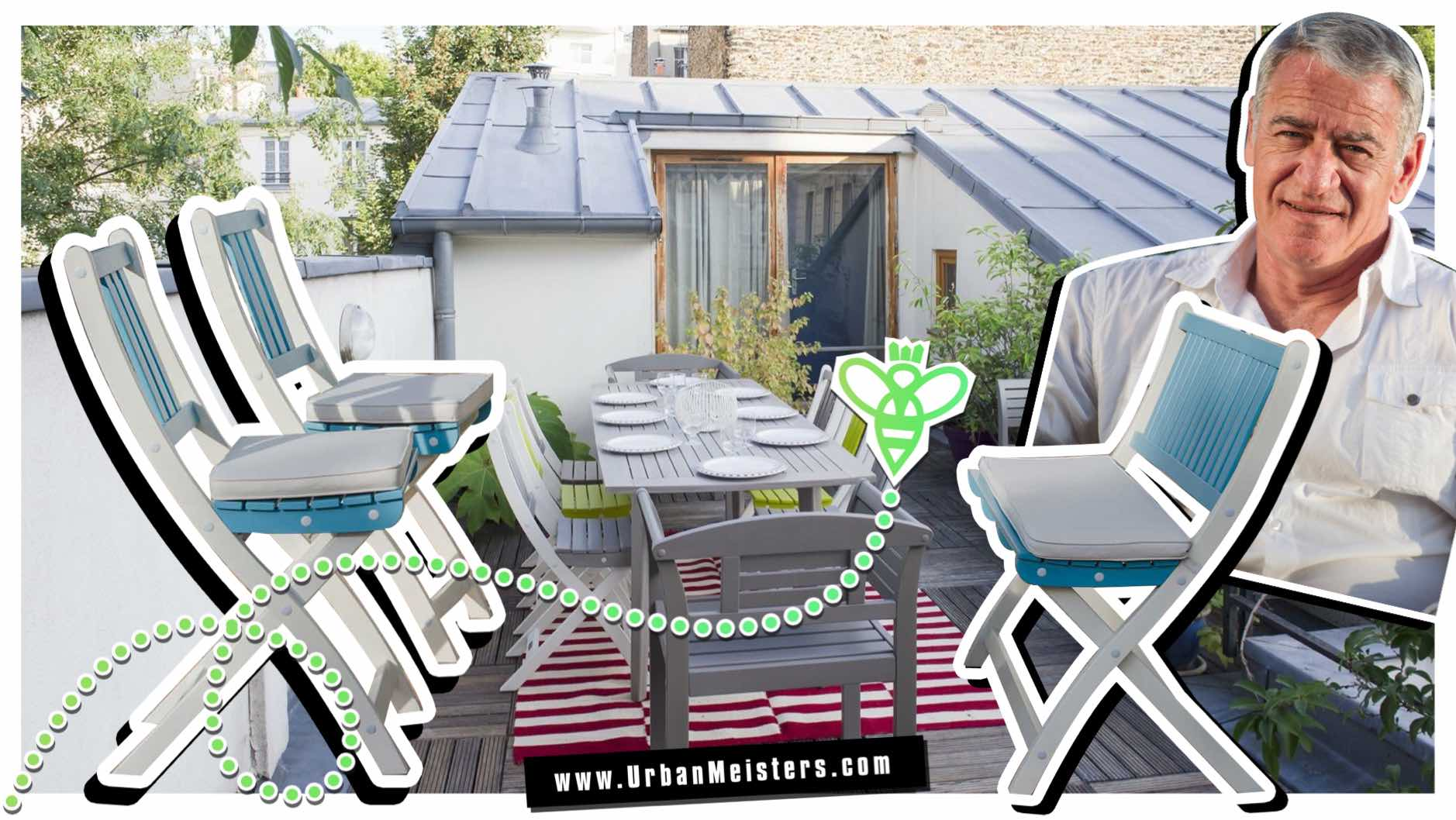 [GREEN HOME] Balcony or terrace, add eco outdoor furniture by City Green