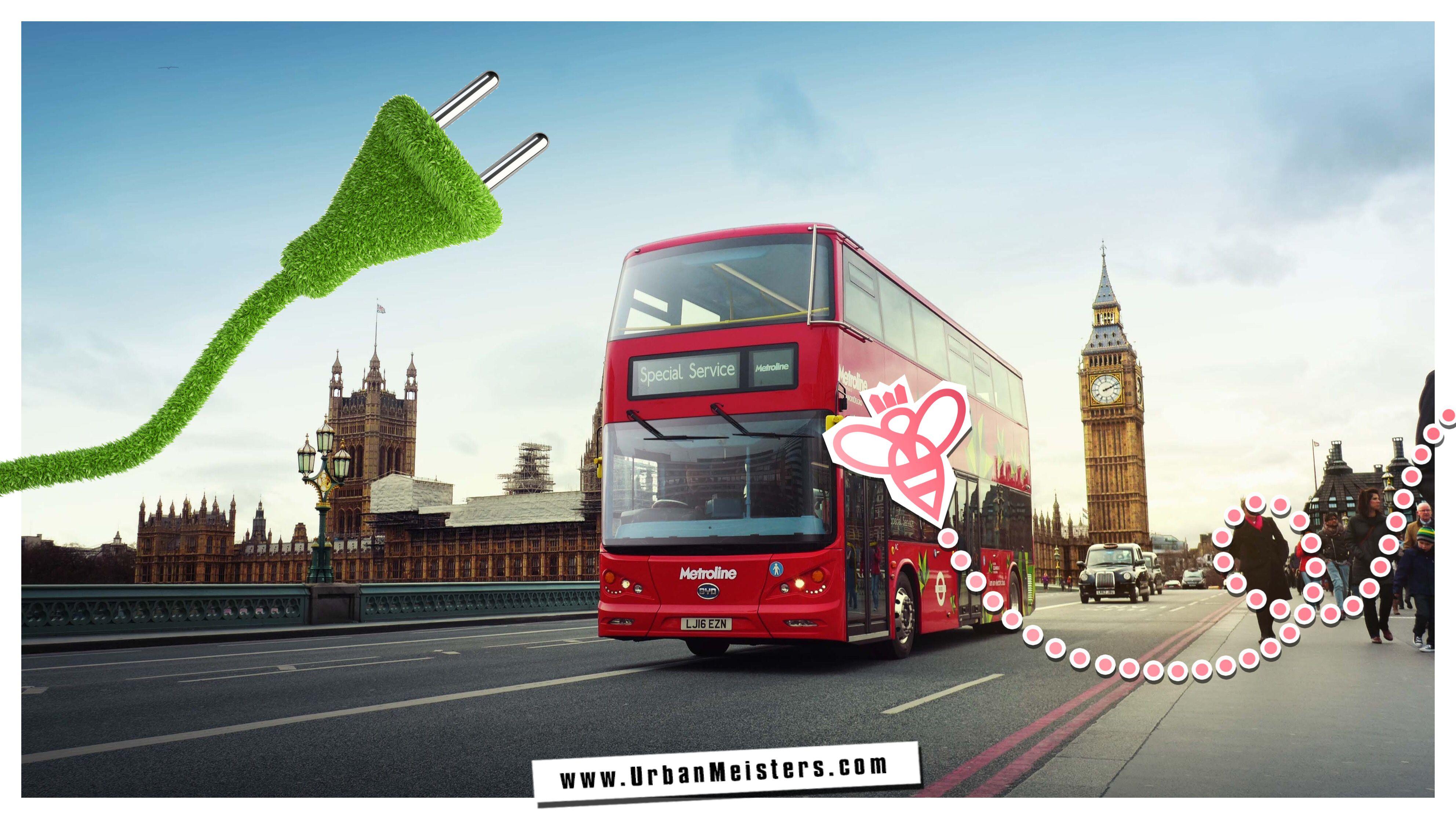 diesel cars London-electric-bus