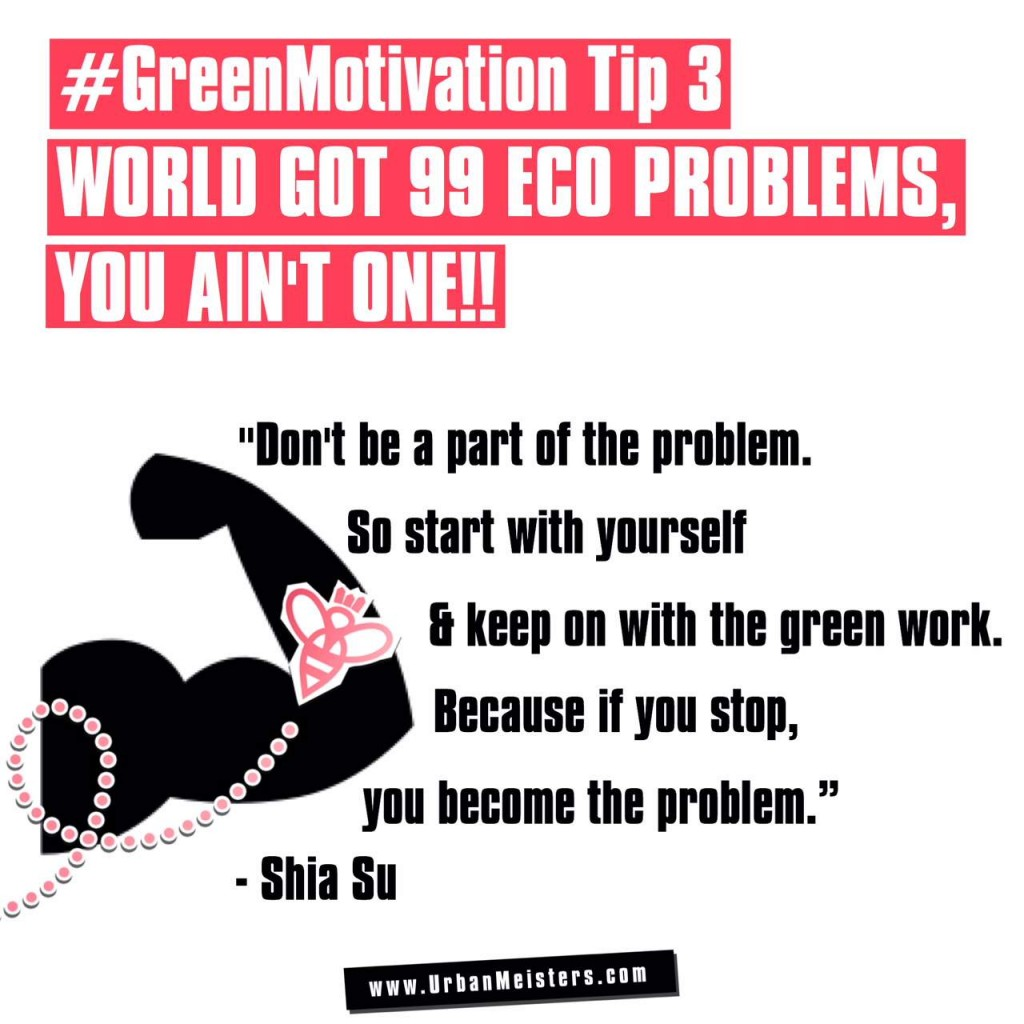green lifestyle expert tip 3