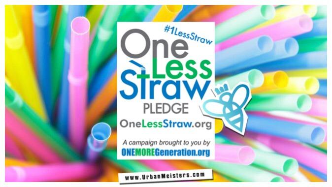 plastic straw pledge