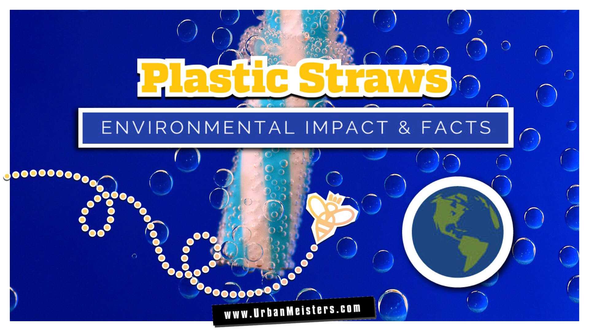 [INFOGRAPHIC] Why you need to call it quits on plastic straws & how!